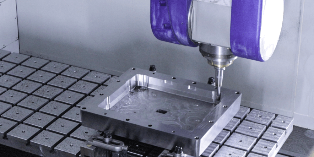 5-Axis machining services at our Hartford shop