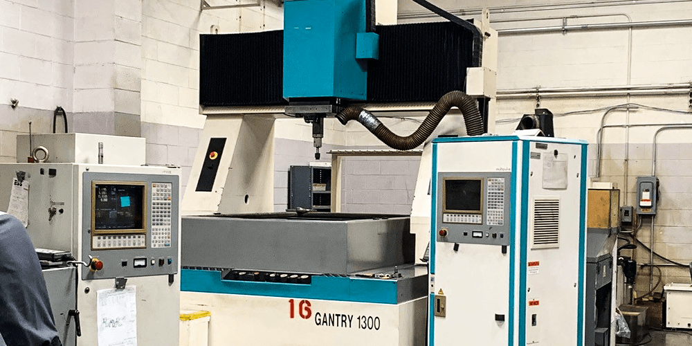 Ingersoll Gantry sinker EDM machine at our Hartford shop